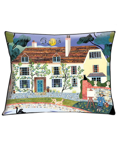 House Cushion Bloomsbury's Charleston