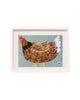 Chicken No. 660 (Original Framed Collage)