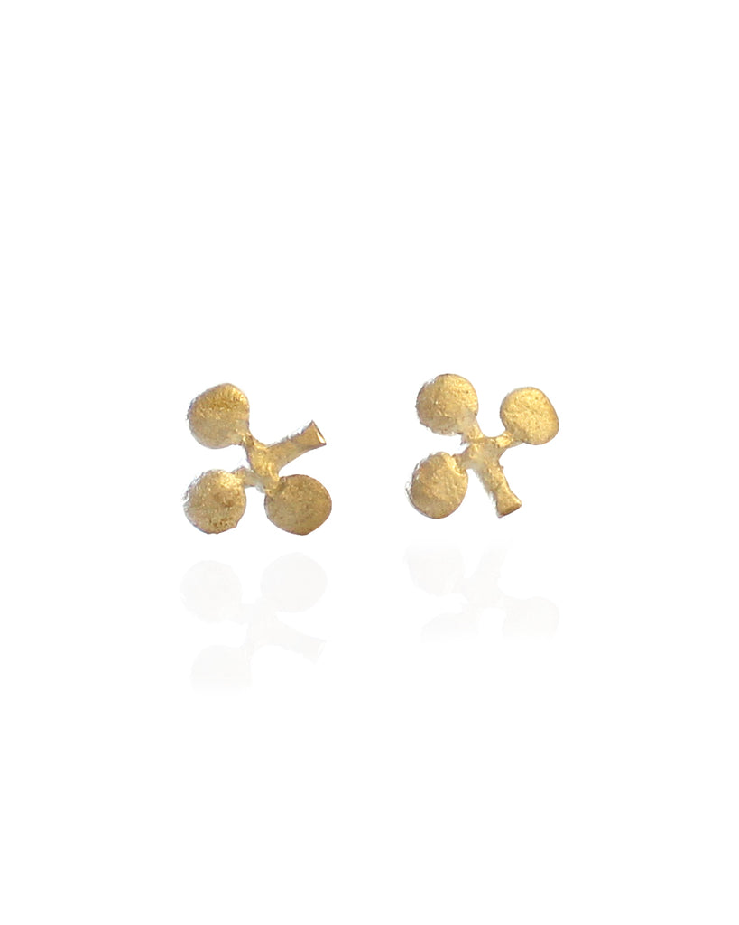 Treasure Earrings - Clubs (GOLD)