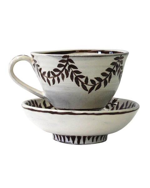 Large Cup & saucer/Bowl No7