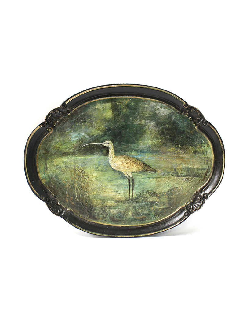Curlew | Hand Painted Tray