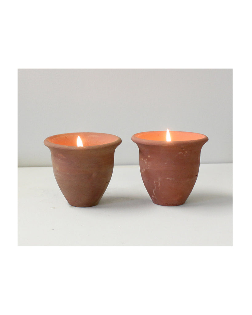 Candle Box: Pair of Pots