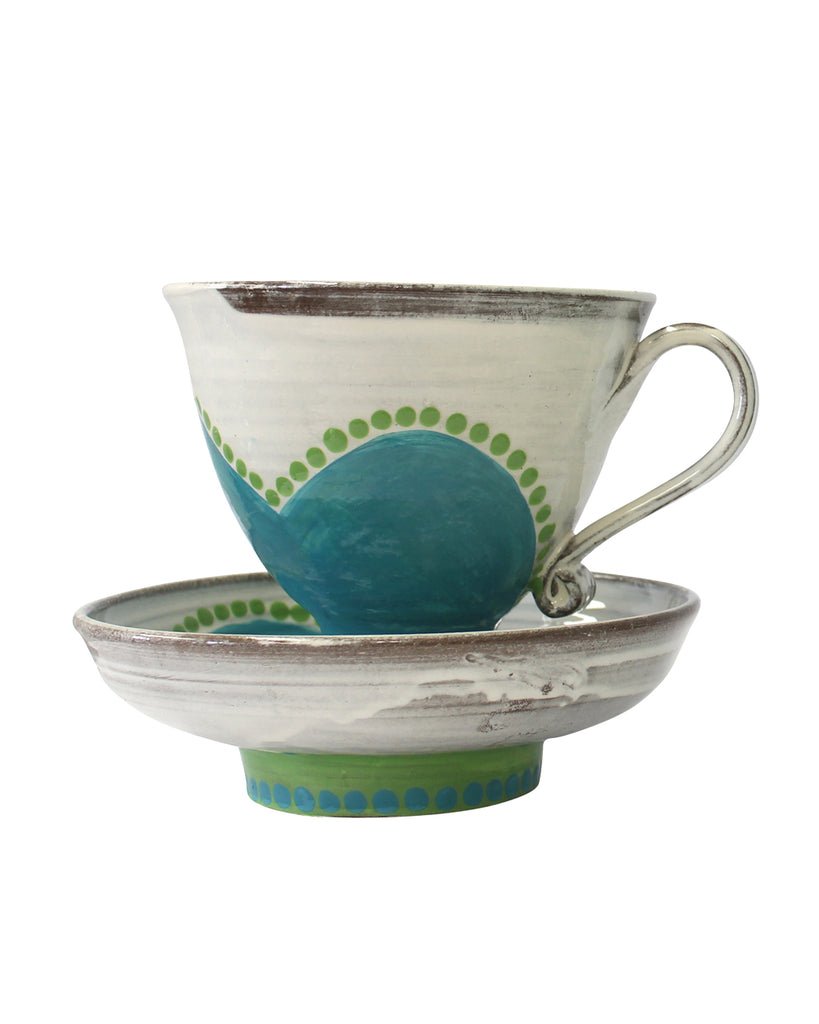 Large Cup & Saucer No4