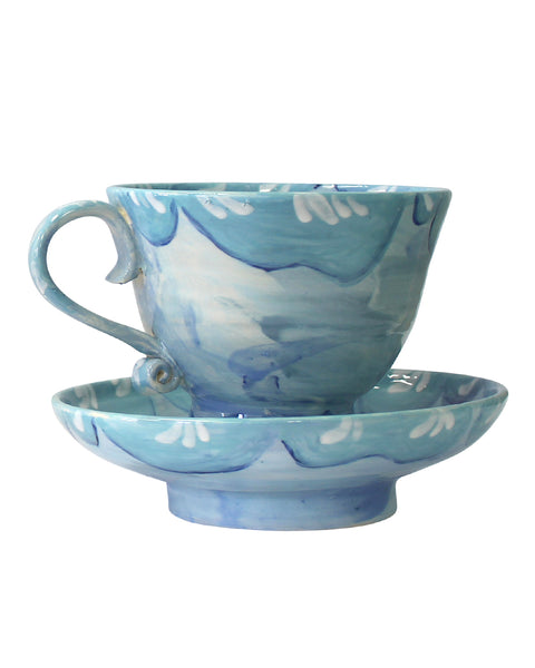 Large Cup & Saucer No5