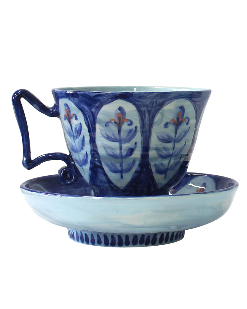 Large Cup & Saucer No6