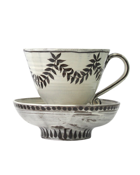 Large Cup & Saucer No7