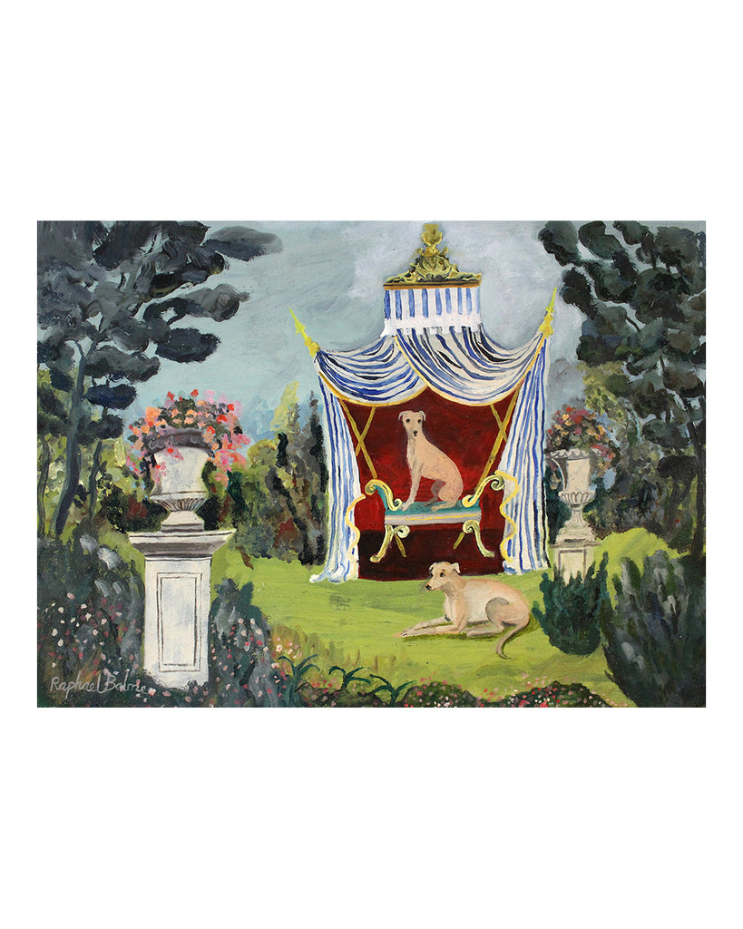 OIL PAINTING | The Dogs' Tent