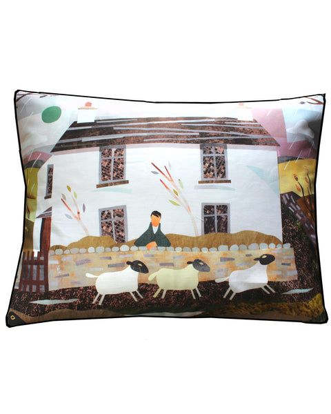 Wordsworth's Dove Cottage - cushion cover