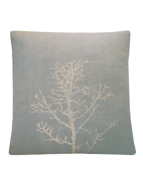 Winter Tree Dove Grey - cushion cover