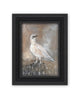 Original Framed Painted Panel - Winter Ptarmigan