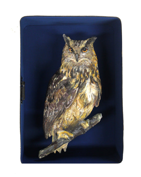 Paper Taxidermy | Eagle Owl