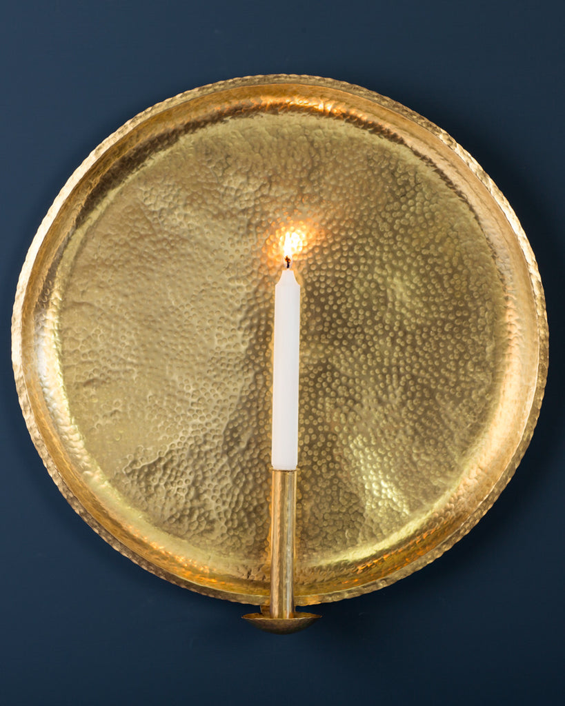 Candle Sconce: No1 Extra Large 50cm: Brass