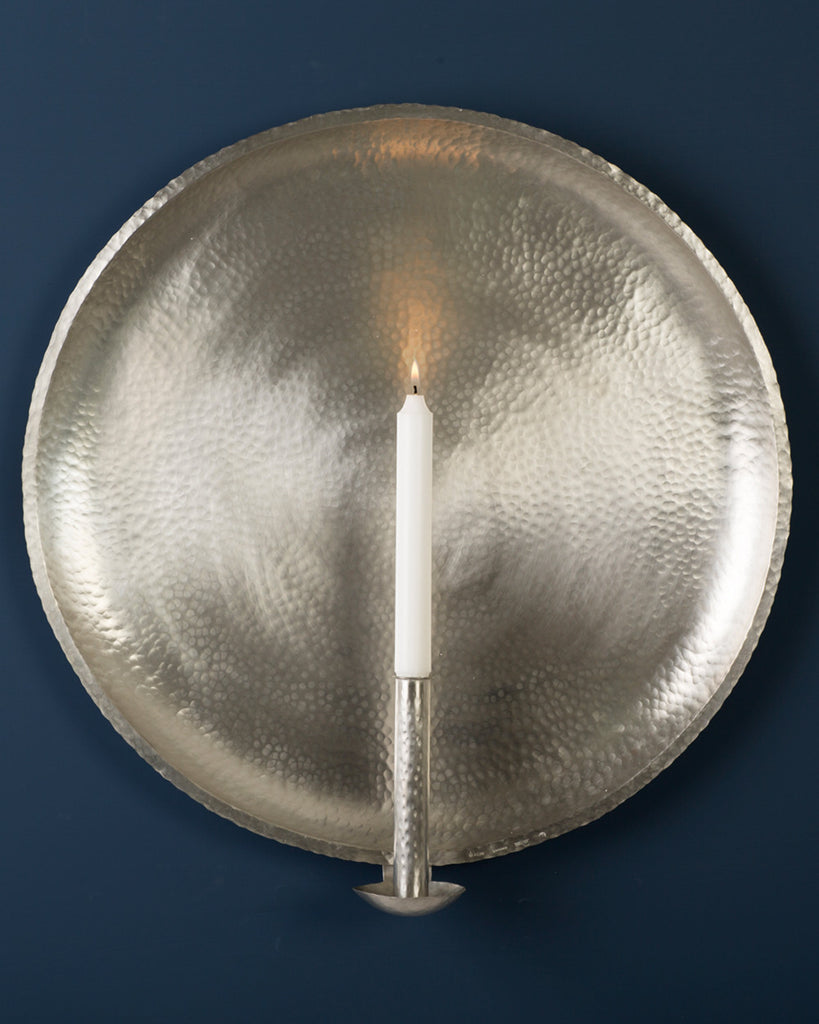 Candle Sconce: No1 Extra Large 50cm: Pewter