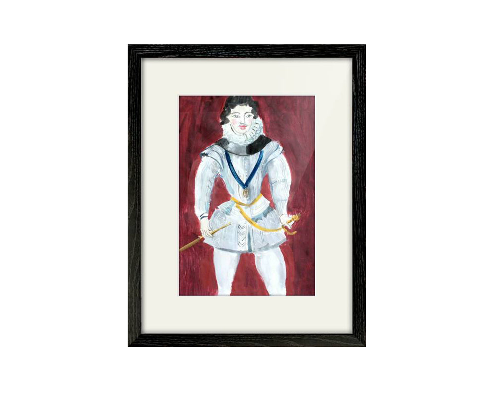 Original Painting - Earl of Essex (Framed)