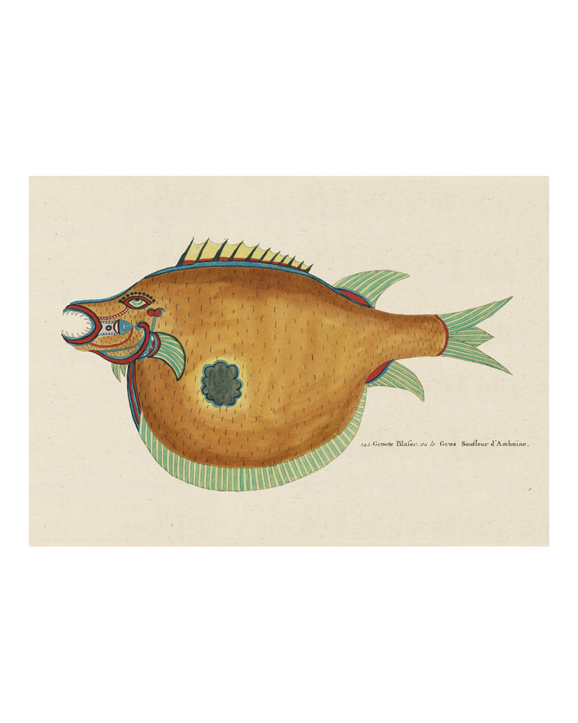Folk Art Fish No8