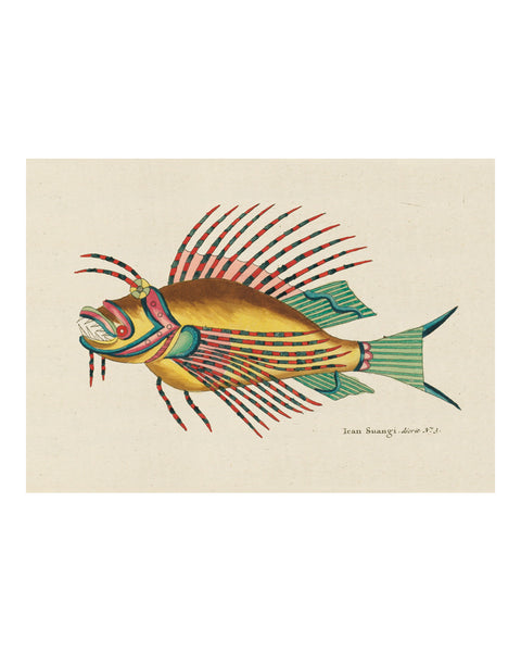 Folk Art Fish No10