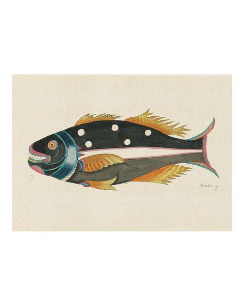 Folk Art Fish No11
