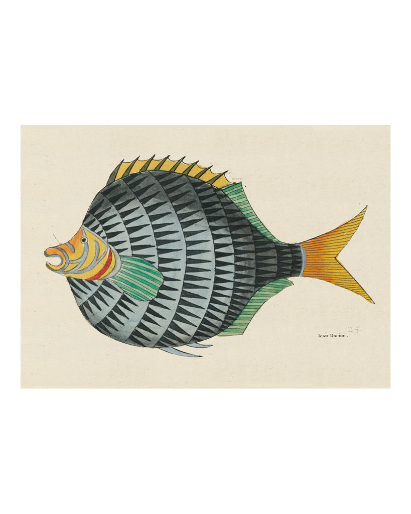 Folk Art Fish No12
