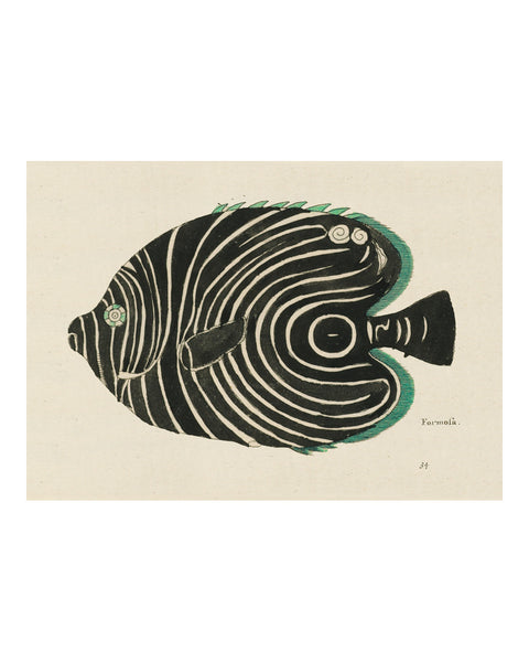 Folk Art Fish No15