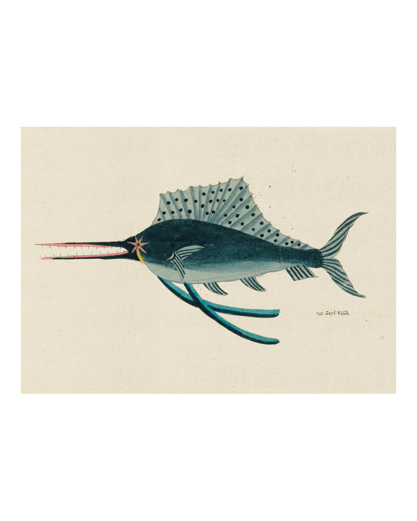Folk Art Fish No3