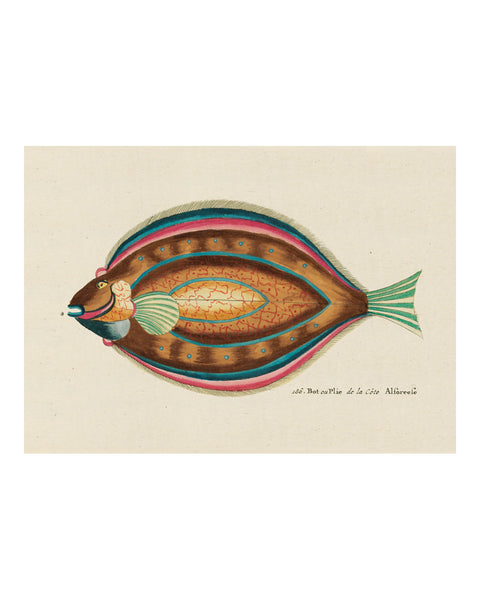 Folk Art Fish No4