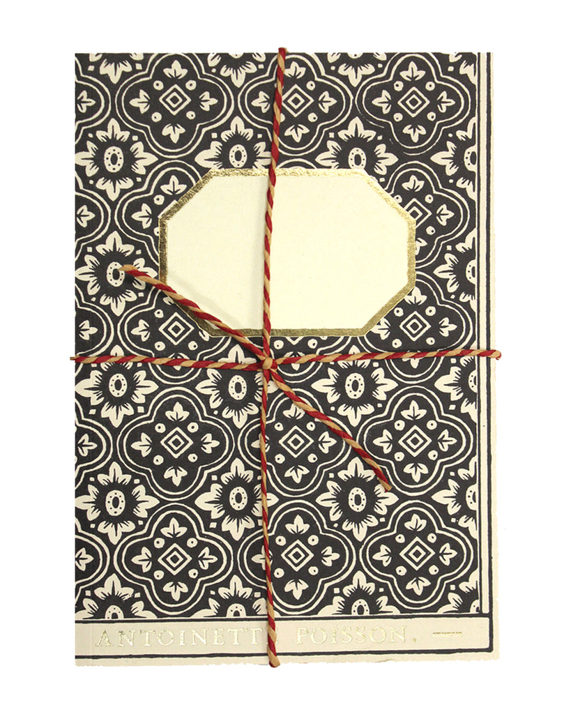 French Handmade Paper Notebook No2