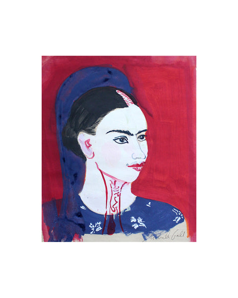 Original Painting - Frida (Framed)