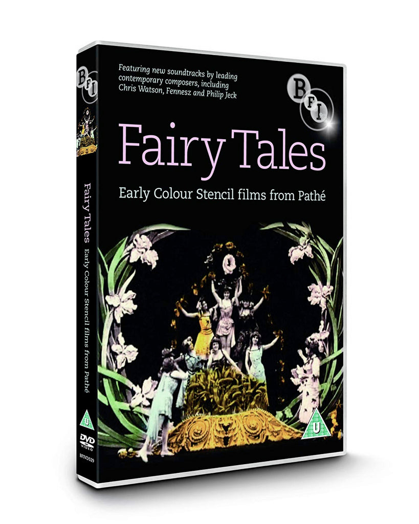 Fairy Tales: Early Colour Stencil Films (DVD)
