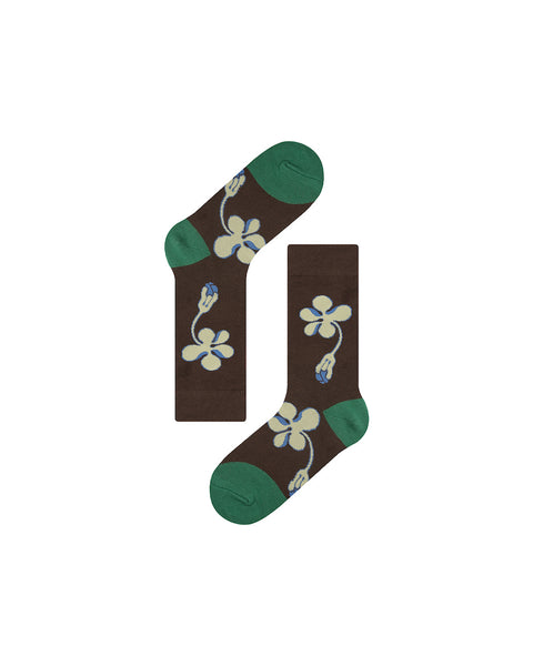 FLOWERS ankle socks