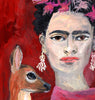 OIL PAINTING | Frida & Fawn