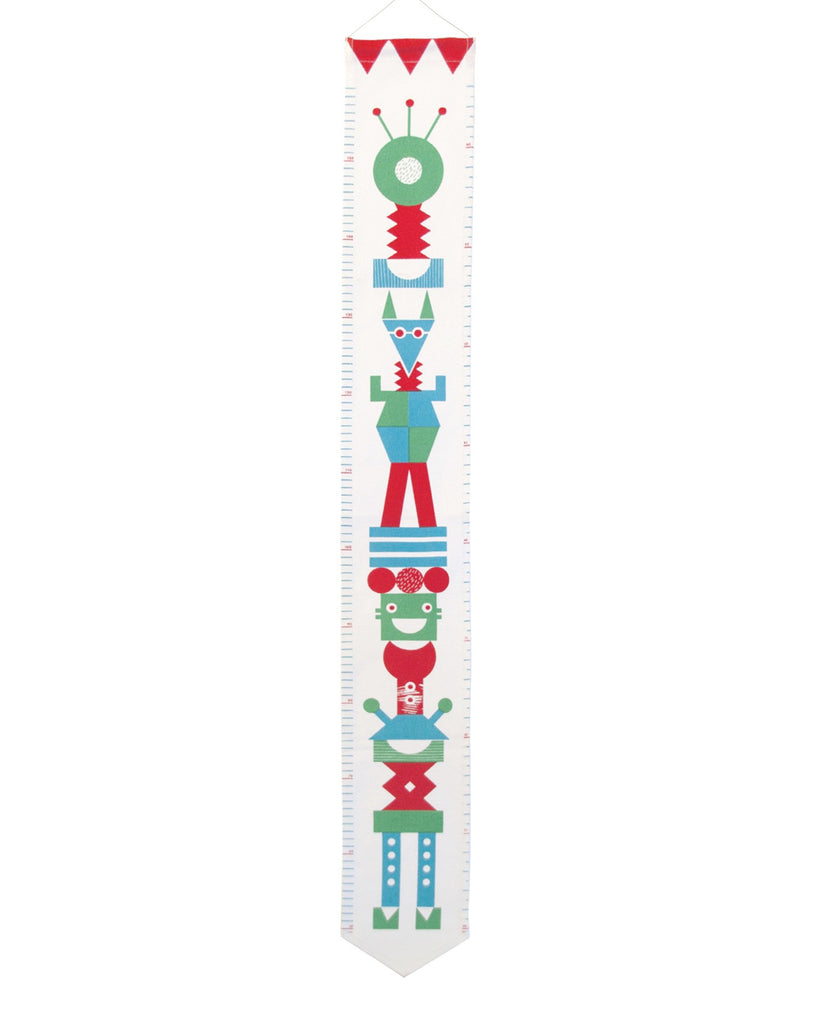 TOTEM POLE HEIGHT CHART (COLOUR)