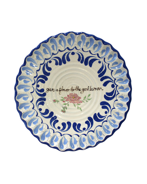 Flower to a Gentleman Plate