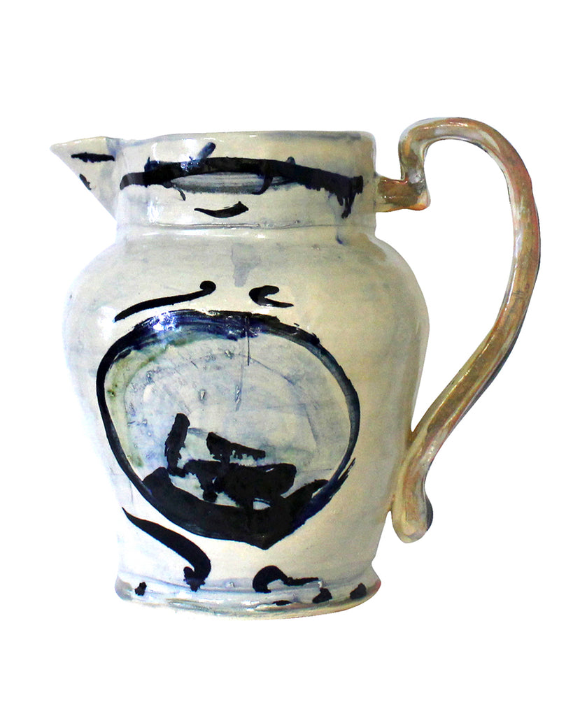 Big Table Jug Blue No1