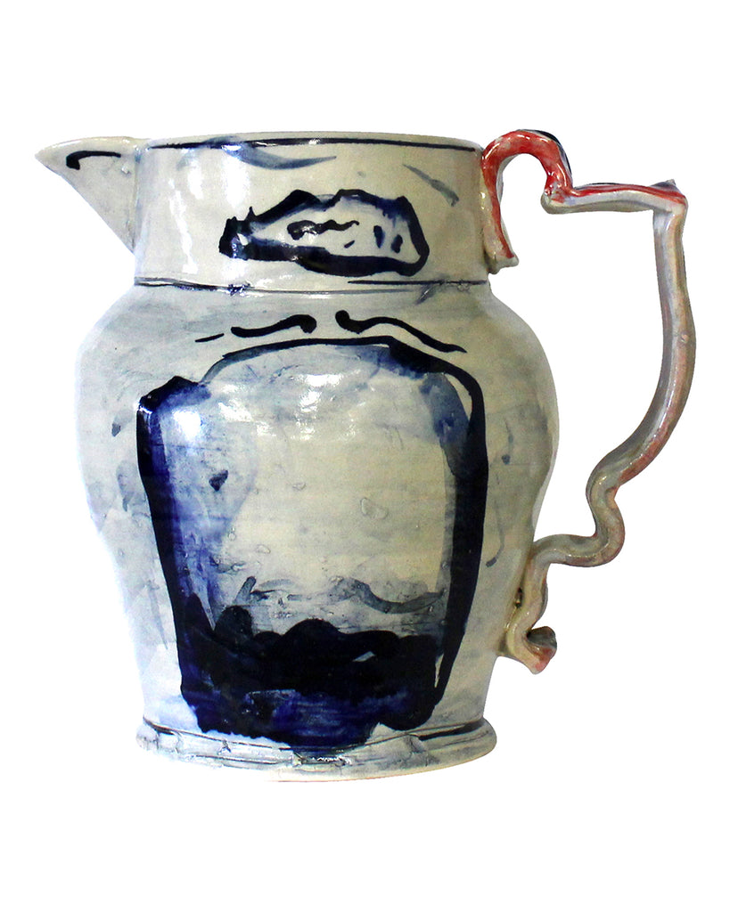 Big Table Jug Blue No3