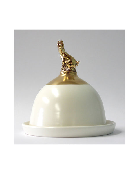 Gold Hare - Domed Pot