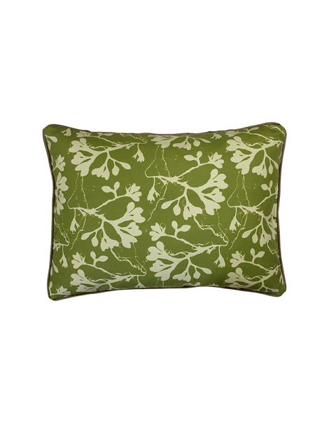 Seaweed Cushion Cover | Kelp Green