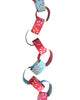 PAPER CHAIN GARLAND KIT: MISTLETOE (Sky & Berry)