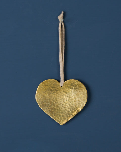 Decoration Heart Brass