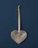 Decoration Heart Pewter