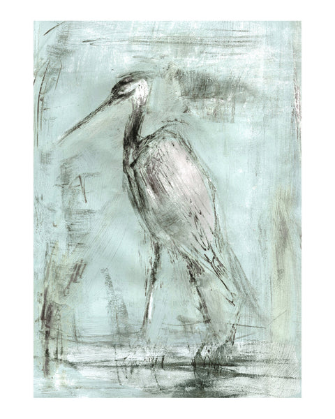 Bird Studies: Heron