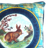 Resting Rabbit Cushion Cover