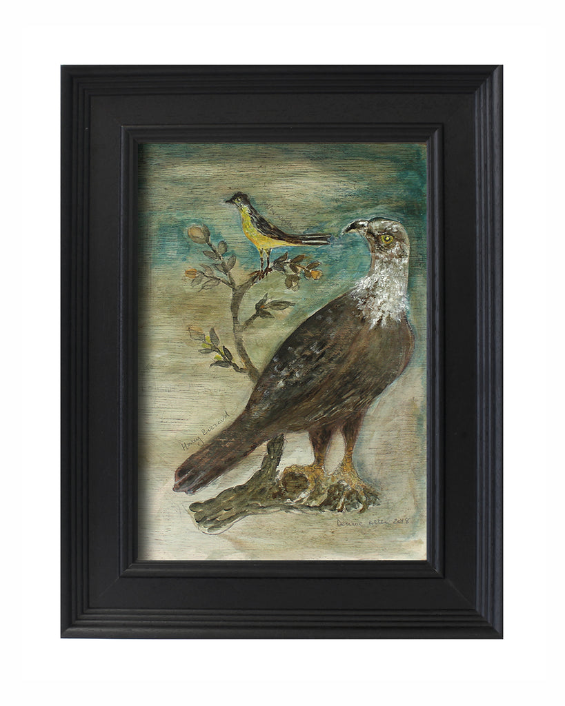 Original Painted Panel - Honey Buzzard