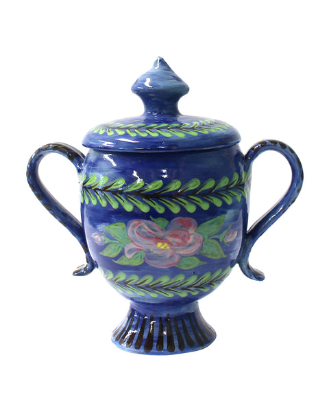 Lidded Jar Blue