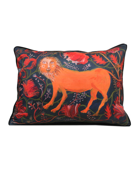 Large Cushion: The Lion