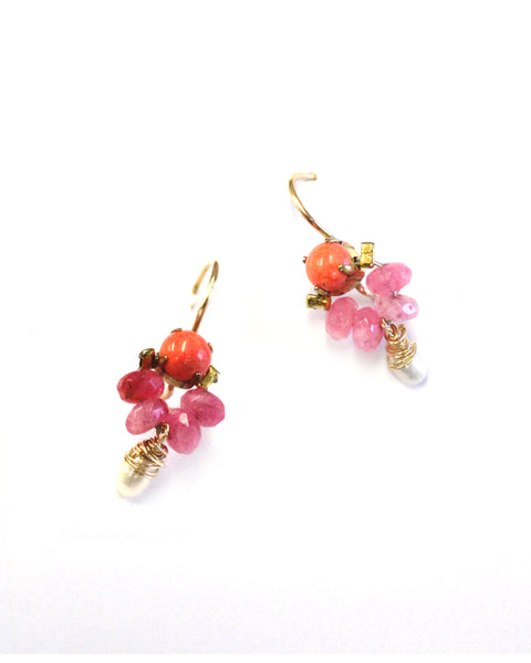 BAROQUE NECTOR EARRINGS