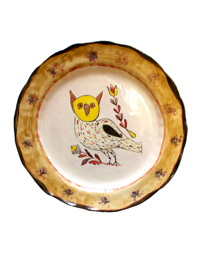 Owl Plate