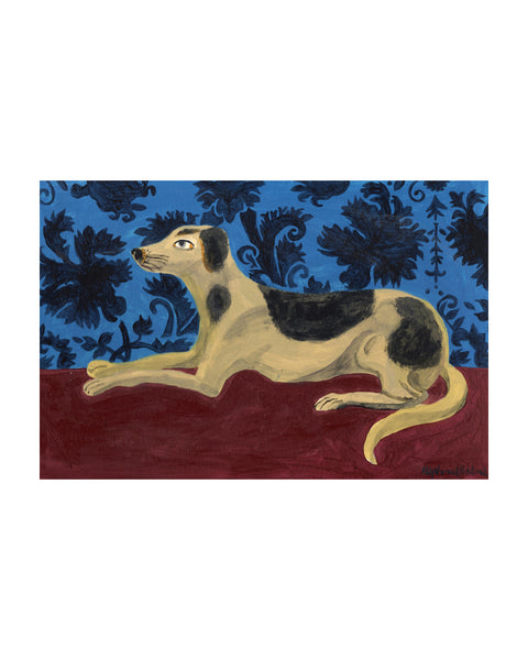 OIL PAINTING | The Marquess' dog