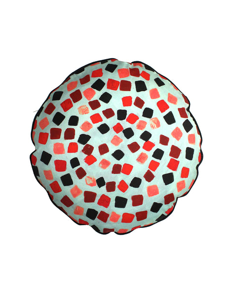 SALE: Circular Cushion: MOSAIC