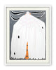 White Ermine Moth (Framed Painting)