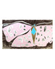 Peach Blossom Moth (Framed Painting)